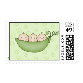 Three Peas in the Pod Stamps