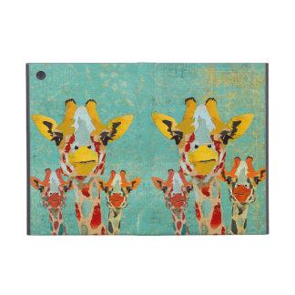 Three Peeking Giraffes iPad Case