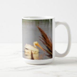 Three Pelicans on the Bear River Coffee Mug