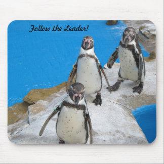 Three Penguins Mousepad