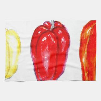 Three Peppers Art2 Towels