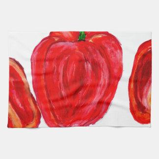 Three Peppers Art Towels