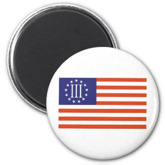 Three Percent Flag Magnet