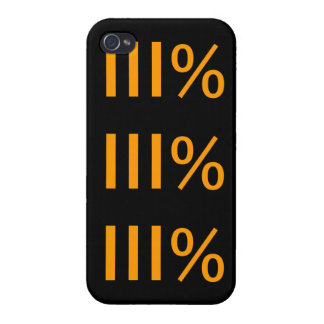 Three Percenter Iphone Case iPhone 4/4S Cover