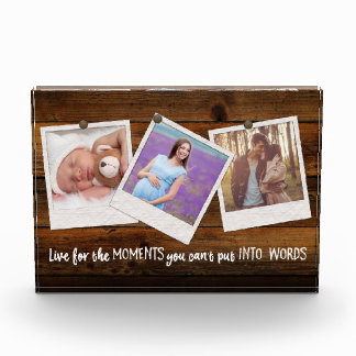Three Photo Collage   Family Memories Album
