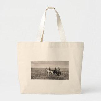 Three Piegan Blackfeet Chiefs - vintage Tote Bag