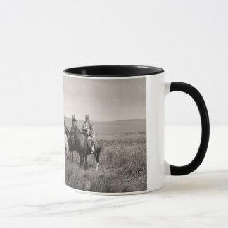 Three Piegan Blackfeet Chiefs - vintage Mug