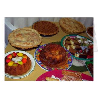 Three Pies Desserts, Thanksgiving/Christmas Card