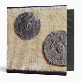 Three pilgrimage plaques of St. Jean d'Amiens 3 Ring Binder