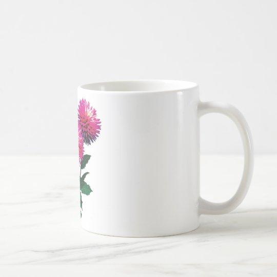 Three Pink Dahlias Coffee Mug