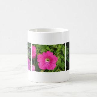 Three Pink Petunias Coffee Mugs