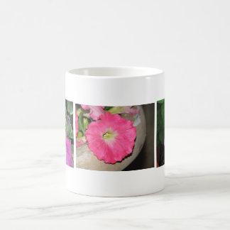 Three Pink Petunias Mugs