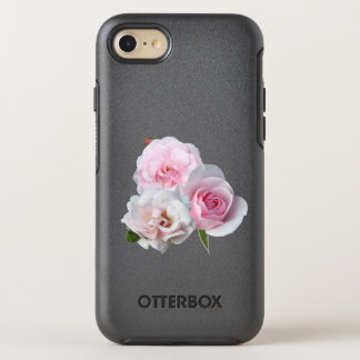 Three pink roses. OtterBox symmetry iPhone 8/7 case