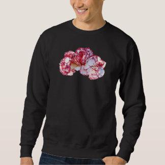 Three Pink-Tipped Carnations Mens Sweatshirt