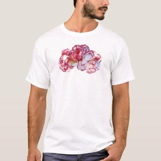 Three Pink-Tipped Carnations Mens T-Shirt