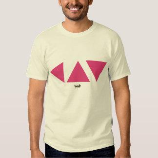 three pink triangles t shirt