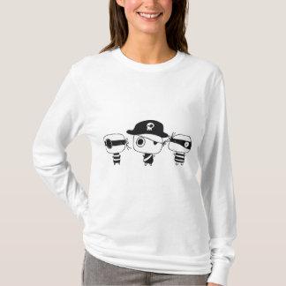 Three pirates black T-Shirt