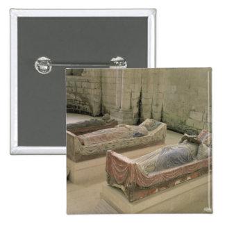 Three Plantagenet Tombs Button