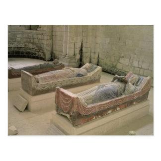 Three Plantagenet Tombs Postcard