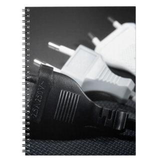 Three plugs notebook