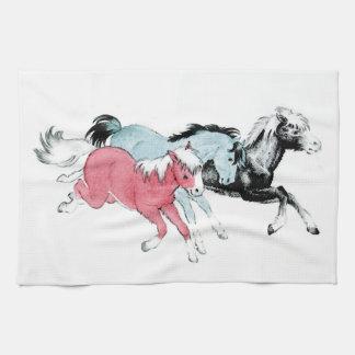 Three Ponies Towel
