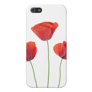 Three poppies case for iPhone SE/5/5s