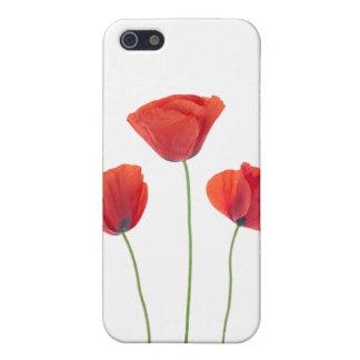 Three poppies iPhone SE/5/5s case