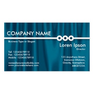 Three Portholes Line - Drapery 01 Double-Sided Standard Business Cards (Pack Of 100)