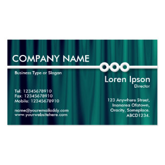 Three Portholes Line - Drapery 03 Double-Sided Standard Business Cards (Pack Of 100)
