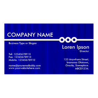 Three Portholes Line - Drapery 05 Double-Sided Standard Business Cards (Pack Of 100)