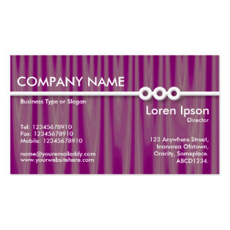 Three Portholes Line - Drapery 06 Double-Sided Standard Business Cards (Pack Of 100)