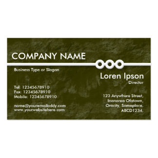 Three Portholes Line - Green Earth Texture Double-Sided Standard Business Cards (Pack Of 100)