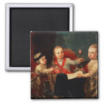 Three Princes, Children of Charles III 2 Inch Square Magnet