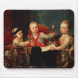 Three Princes, Children of Charles III Mouse Pad