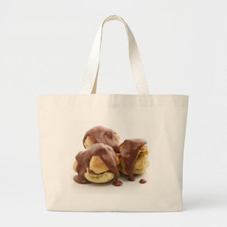 three profiteroles jumbo tote bag
