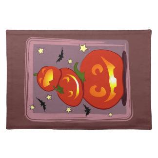 Three Pumpkins Placemat