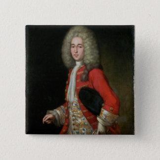 Three-Quarter Length Portrait of a Gentleman Weari Button