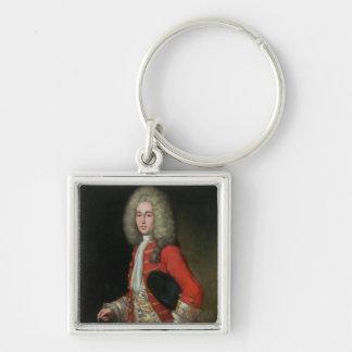 Three-Quarter Length Portrait of a Gentleman Weari Keychain