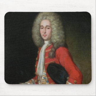 Three-Quarter Length Portrait of a Gentleman Weari Mouse Pad