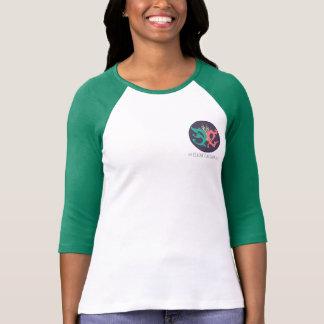 Three-Quarter Sleeve Raglan (Fitted) Tee Shirts