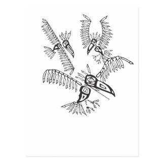 Three Ravens Postcard