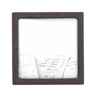 Three receipts on white background. There are Keepsake Box