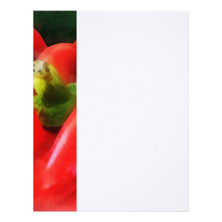 Three Red Peppers Letterhead