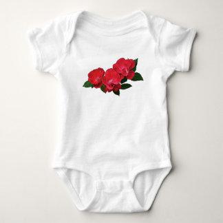Three Red Roses Infants Tshirts