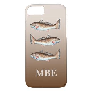 Three Redfish iPhone 7 Case