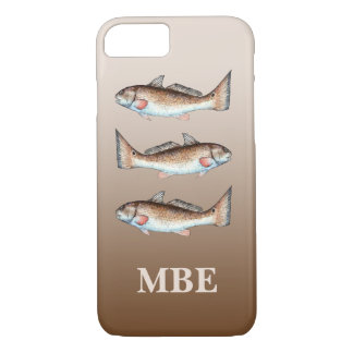 Three Redfish iPhone 8/7 Case