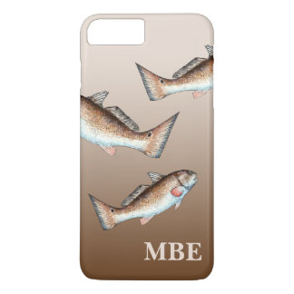 Three Redfish Swimming iPhone 7 Plus Case