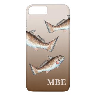 Three Redfish Swimming iPhone 7 Plus Case