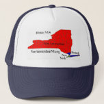 """Three Region Hat<br><div class=""""desc"""">Divide NYS into one state with three completely autonomous regions. The State of New York really should be two or three separate states but autonomous regions should be easier to achieve. We would partition NYS into two or three Autonomous Regions the New Amsterdam Region (upstate) and the New York Region...</div>"""