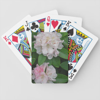 Three Rhododendron Flowers Bicycle Card Deck